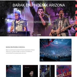 Sitio de eventos artísticos